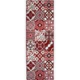 NAZAR UTO250R Utopia 250 Tapis Matériel Synthétique Rouge 180 x 67 cm