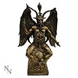 Nemesis Now Statuette démon Baphomet–Figurine–Bronze Taille L 38cm