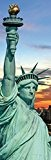 New York Papier Peint Photo/Poster - Statue De La Liberté Et Skyline Au Coucher De Soleil, 1 Partie (250 x ...