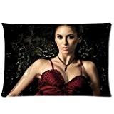 Nina Dobrev The Vampire Diaries Taie d'oreiller taies d'oreiller sur mesure Housse de coussin 50,8x 76,2cm deux côtés par le ...