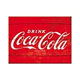 Nostalgic art 14320 de coca-cola, logo rouge