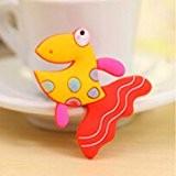 Nouveau animal style sticker de frigo autocollant magnétique jouet éducatif des enfants Poisson