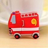 Nouveau animal style sticker de frigo autocollant magnétique jouet éducatif des enfants Camion de pompiers