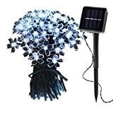 OMGAI Guirlande Lumineuse Solaire, 12 Mètres 100 LED Fleurs Sakura Guirlande étanche IP65 Idéal Pour Les Vérandas, Soirées, Mariages,Camping, Chambres, ...