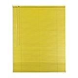 Original Easy de Shadow Store vénitien en aluminium jalousette Largeur 40x 150cm Hauteur en couleur jaune–à gauche–Fenêtre Jalousie Store vénitien ...