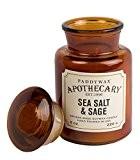 Paddywax apothicaire ml ~~~Bougie à la cire de soja Parfum sel de mer & SAGE