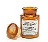 Paddywax Bougie parfumée en bocal d'eucalyptus Verveine apothicaire 8oz