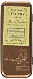 Paddywax Candles Bibliothèque Collection Mark Twain Voyage parfumée en cire de soja (Tabac Fleurs et de vanille) Lot de 2