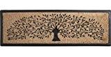 Paillasson arbre en coco et latex 40 x 120 cm