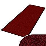 Paillasson sur mesure casa pura® tapis anti poussiere | absorbant | hôtel | 7 couleurs, 16 tailles | Brasil, rouge ...
