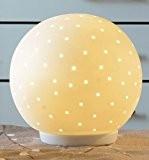 """'Pajoma, lampe à sphère en porcelaine """"Beno, hauteur 20cm"""