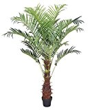 Palmier Areca Plante Arbre Artificielle Artificiel 180cm Decovego