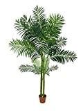 Palmier artificiel Areca en pot, 4 troncs, 240 cm, extérieur - palmier en pot / plante artificielle palmier - artplants