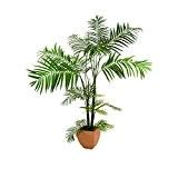 Palmier artificiel Areca en pot, plusieurs troncs, 170 cm, extérieur - palmier en pot / plante artificielle palmier - artplants