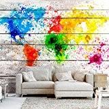 Papier peint intissé 350x245 cm ! Top vente - Papier peint - Tableaux - muraux - déco - XXL - ...