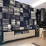 Papier peint intissé 400x280 cm - 3 couleurs au choix - Top vente - Papier peint - Tableaux muraux déco ...