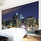 Papier peint intissé - Manhattan in New York City - Wall Mural Large papier peint photo intissé tableau mural photo