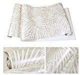 Papier peint papier peint papier peint vintage Le Salon 0.53m*10m, gris clair