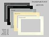 Passe-partout ARTON 5 pièce 30x40 cm Noir avec l'extrait approprié pour 20x30
