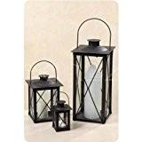 Photophore lanterne–Farol-Lot de 3