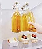 Porte-bière support magnétique pour 6 bières, Économisez de l'espace et organisez des bouteilles sur le toit et les grilles du ...