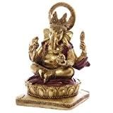 Puckator GAN06 Statue Ganesh Rouge 14 cm