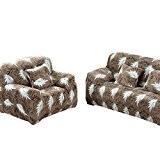 Qianle Housse de Canapé Elastique Tout Couvrir Revêtement Sofa XL 1#