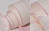 Rayures verticales Style papier peint vintage Bois Chambre à coucher salle de séjour nostalgique des tissus non tissé Wallpapers 0.53m*10M,B