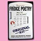 Réfrigérateur Poésie Aimants mots original design Aimants pour frigo humoristique CADEAU