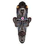 Résine masque africain accrochant décor décor mural pour la maison / bureau / bar / magasin / pub, C