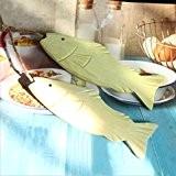 Rétro Faire l'ancien poisson en bois massif modélisation Bracelet Décoration murale Décoration bar Couleur de l'image
