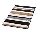 Ridder Tutu 72804070-350 Tapis de bain 100 % polyacrylique Gris/noir 70 x 120 cm