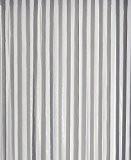Rideau de porte Lanières plastiques grande qualité largeur 90 cm x longueur 220 cm (blanc et gris)
