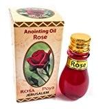 Rose Naturel onction Huile parfumée Jérusalem Rosa authentique Parfum 30ml, 1fl