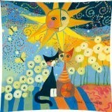Rosina wachtmeister sunny day housse de coussin 40 x 40 cm
