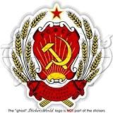 russie russe armoiries de badge Écusson URSS Soviétique RSFSR 100mm (10,2cm) Bumper Sticker en vinyle, en