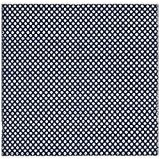 Safavieh BOS685D-6SQ Nantucket Tapis Coton Bleu marine 182 x 182 cm