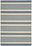 Safavieh CY6062-233-4 Gemma Tapis d'intérieur/extérieur Matériel Synthétique/Polypropylène Beige/Bleu 121 x 170 cm