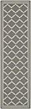 Safavieh CY6889-246-28 Chloé Tapis d'intérieur/extérieur Matériel Synthétique/Polypropylène Gris/Beige 68 x 243 cm