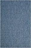 Safavieh CY8520-36822-4 Delano Tapis d'intérieur/extérieur Matériel Synthétique/Polypropylène Bleu marine/Bleu marine 121 x 170 cm