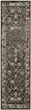 Safavieh VTG117-330-28 Tapis Rayon/Viscose Pile Anthracite Clair 66 x 243 cm