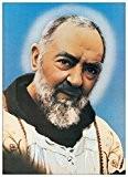 SAN PIO - Padre Pio da Pietralcina (Panneaux MDF 50x70 cm)