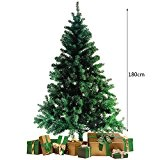 Sapin Artificiel Arbre Artificiel Décoration de la Maison Cadeaux pour Fêtes et Vacances (180cm)