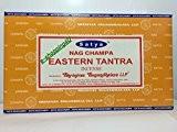 Satya Nag Champa de nombreux nouveaux Saveur Bâtons d'encens 12Packsx 15g, EASTERN TANTRA