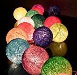 Sauvegarder Prix 20/Set Classique Boule Coton Léger Color Mix Pour Noël Parti Décor à la Maison
