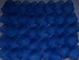 SAVFY® Lot 1000 Pétales de Rose en Soie Tissu Pétale Décoration Fête Mariage Table Baptême - Bleu