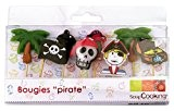 Scrapcooking 5000 Pirates Set de 8 Bougies Paraffine Multicolore 10,5 x 10 x 2 cm