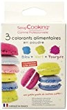 Scrapcooking Kit 3 Colorants Artificiels Bleu/Vert/Pourpre 6 g