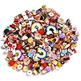 Sea Team Mixed Lot Résine alimentaire Flatback Mini Kawaii Cabochons, 20 Pièces