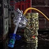 Shisha Narguilé Hookah Chicha Fumeur Pipe a Eau Cool Design bronzer Art Les fumeurs